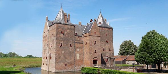 Slot Loevestein in Zaltbommel